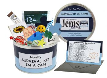 Anniversary Survival Kit In A Can (For Him)